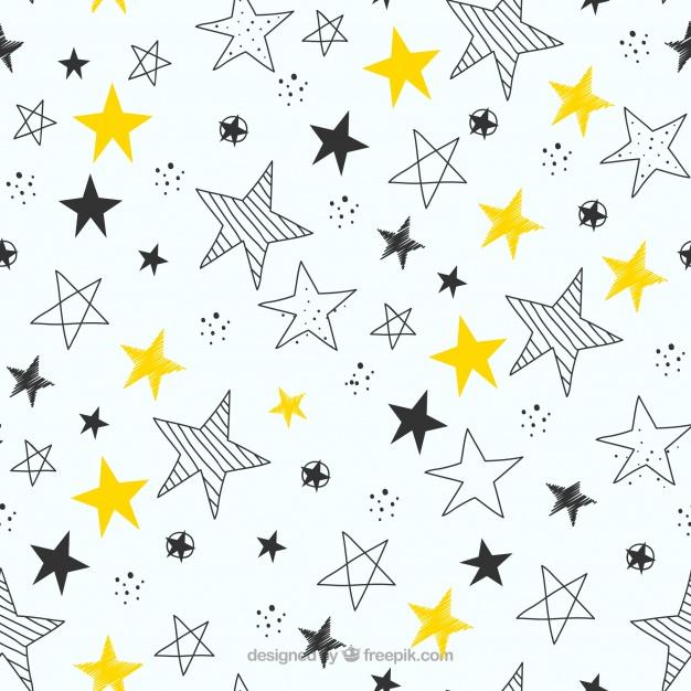 ręcznie-rysowane-gwiazdki-wzor-tła_23-2147751169