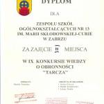 tarcza dyplom